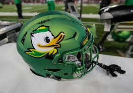 Oregon Duck Football Helmet